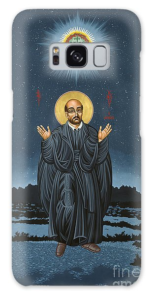 St. Ignatius In Prayer Beneath The Stars 137 Galaxy Case