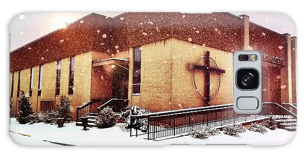 St. Isaac Jogues In The Snow Galaxy Case