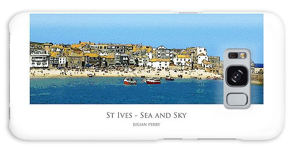 St Ives Sea And Sky Galaxy Case