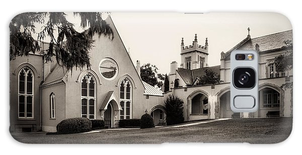 St James Parish Wilmington North Carolina In Sepia Galaxy Case