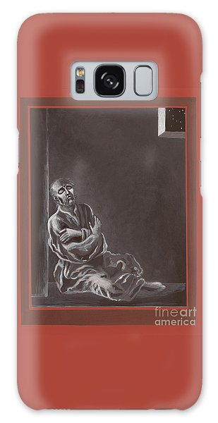 Galaxy Case featuring the painting  St John Of The Cross In The Dark Night Of The Soul 290 by William Hart McNichols
