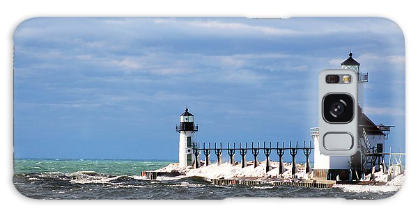 St. Joseph Lighthouse - Michigan Galaxy Case