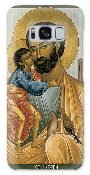 St. Joseph Of Nazareth - Rljnz Galaxy Case