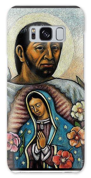 St. Juan Diego And The Virgins Image - Jljdv Galaxy Case