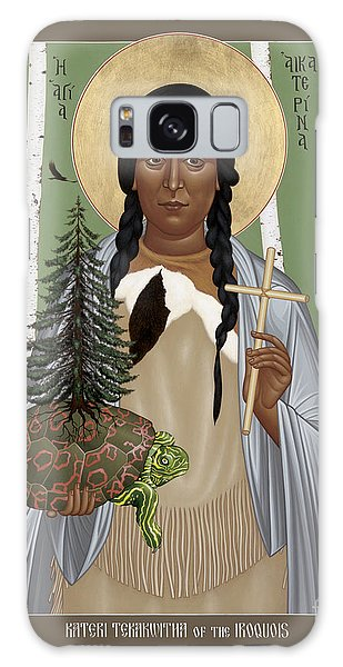 St. Kateri Tekakwitha Of The Iroquois - Rlktk Galaxy Case