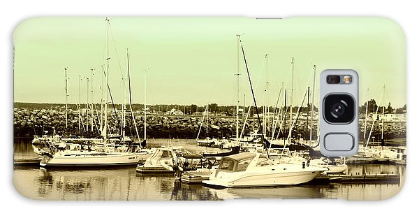 St. Lawrence Seaway Marina Galaxy Case