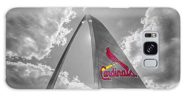 St. Louis Cardinals Busch Stadium Gateway Arch 1 Galaxy Case