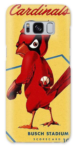Cardinal Galaxy Case - St. Louis Cardinals Vintage 1956 Program by John Farr