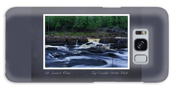 Galaxy Case featuring the photograph St Louis River Scrapbook Page 1 by Heidi Hermes