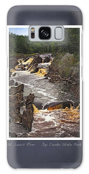 St Louis River Scrapbook Page 3 Galaxy Case by Heidi Hermes