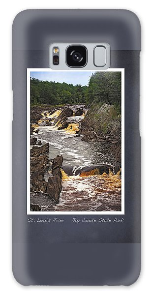 Galaxy Case featuring the photograph St Louis River Scrapbook Page 3 by Heidi Hermes