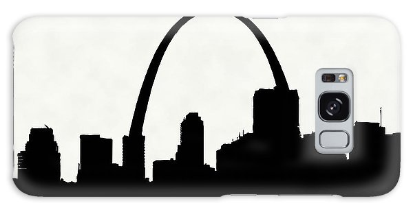 St Louis Silhouette With Boats 2 Galaxy Case