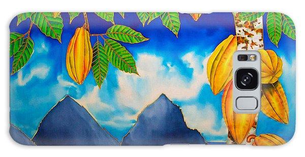 St. Lucia Cocoa Galaxy Case