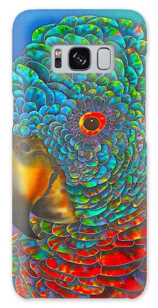 St. Lucian Parrot - Exotic Bird Galaxy Case