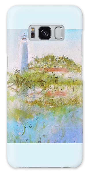 St Marks Lighthouse Galaxy Case