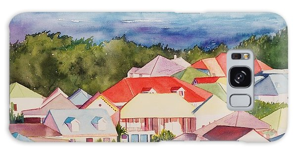 St. Martin Rooftops Galaxy Case