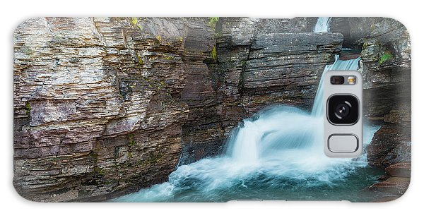 Galaxy Case featuring the photograph St. Mary Falls by Gary Lengyel