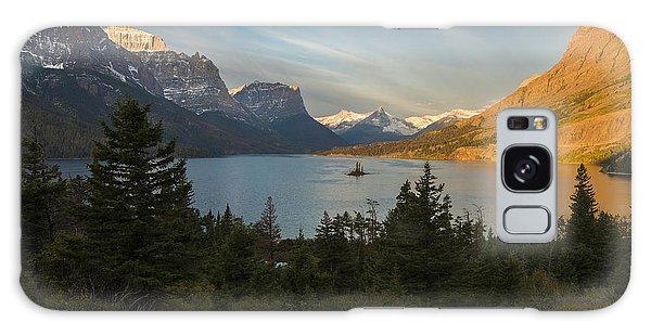 St. Mary Lake Galaxy Case by Gary Lengyel
