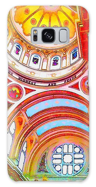 St. Mary Of The Angels 1 Galaxy Case by Dave Luebbert
