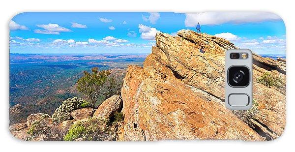 St Mary Peak Galaxy Case by Bill  Robinson