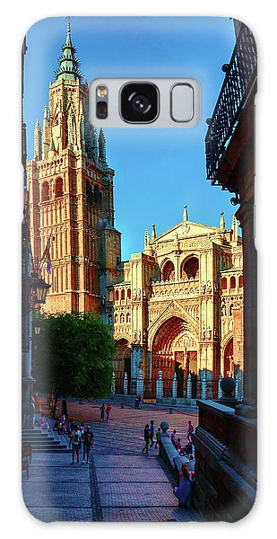 St Mary's Cathedral - Catholic Cathedral In Toledo, Chair Of The Primate Of Spain, The Main Cathedra Galaxy Case