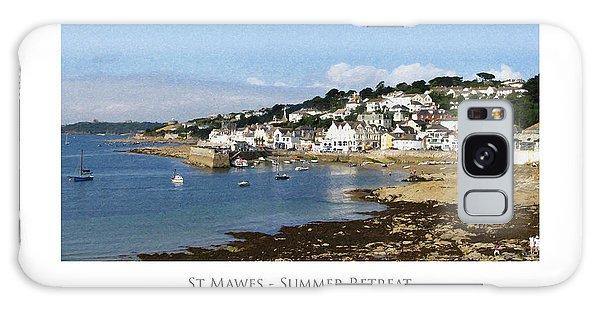 St Mawes - Summer Retreat Galaxy Case
