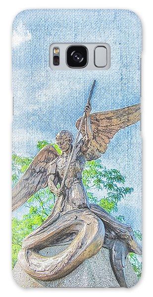 St Michael The Archangel Galaxy Case