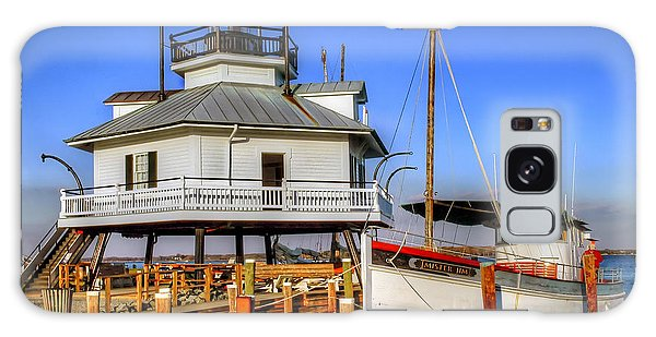 St Michaels Lighthouse Galaxy Case by Dave Mills