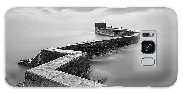 St Monans Breakwater Galaxy Case