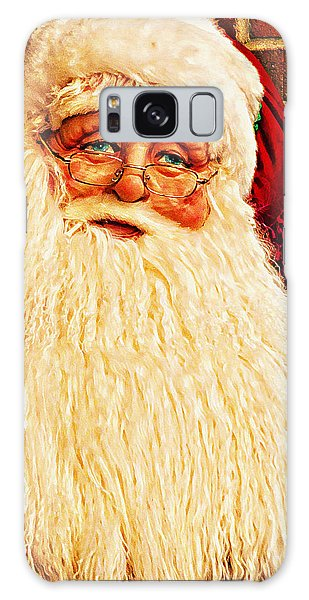 St. Nicholas Melting Canvas Photoart Galaxy Case