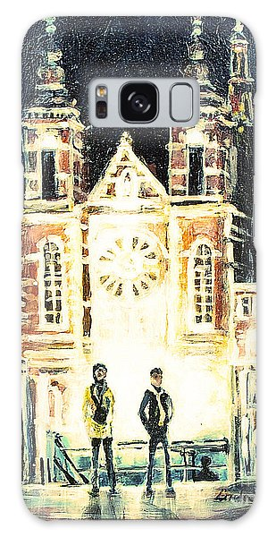 St Nicolaaskerk Church Galaxy Case by Linda Shackelford