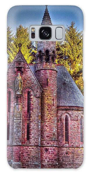 St Palladius Church Drumtochty Galaxy Case by Gabor Pozsgai