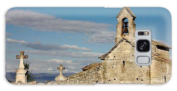 St. Pantaleon Church,  Luberon, France Galaxy Case