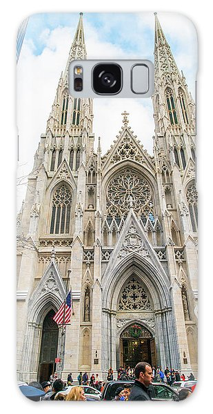 St. Patrick Cathedral In New York Galaxy Case