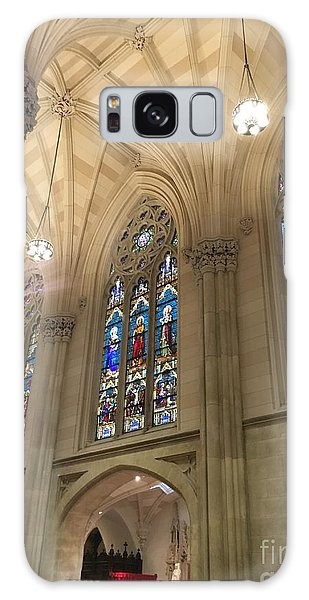 St. Patricks Cathedral Interior Galaxy Case