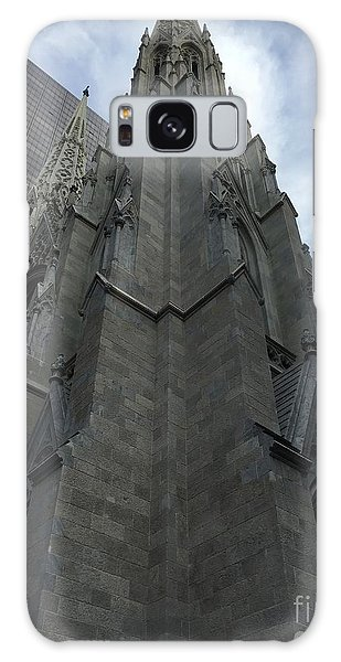 St. Patricks Cathedral Perspective Galaxy Case