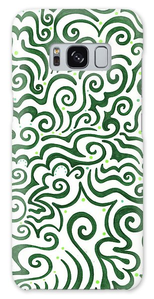 St Patrick's Day Abstract Galaxy Case