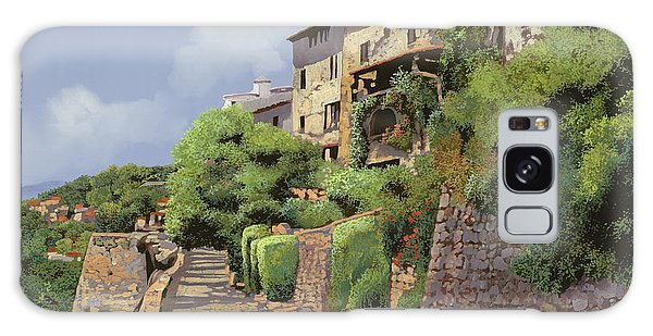 French Galaxy Case - St Paul De Vence by Guido Borelli
