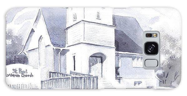St. Paul Lutheran Church 2 Galaxy Case by Kip DeVore