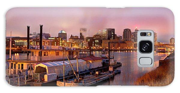 St Paul Minnesota Its A River Town Galaxy Case