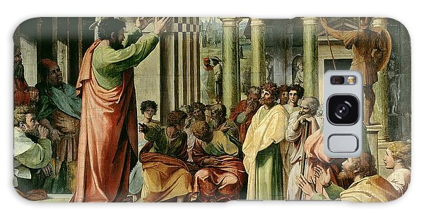 People Galaxy Case - St. Paul Preaching At Athens  by Raphael