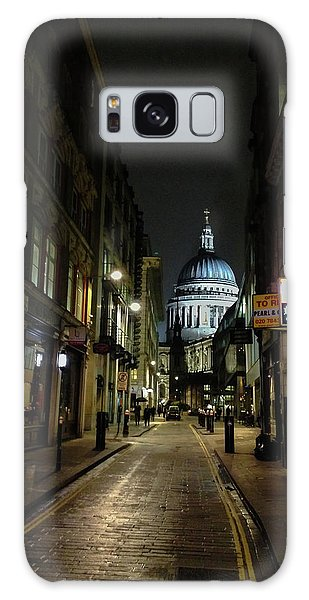 St. Pauls By Night Galaxy Case