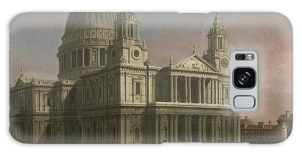 Place Of Worship Galaxy Case - St. Paul's Cathedral by Giovanni Antonio Canaletto