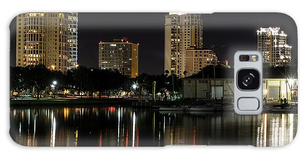 St. Pete At Night Galaxy Case