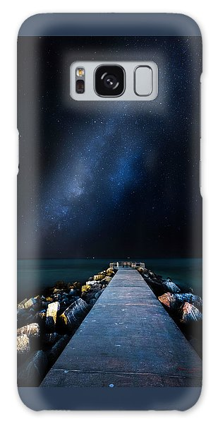 Astro Galaxy Case - St. Pete Night by Marvin Spates