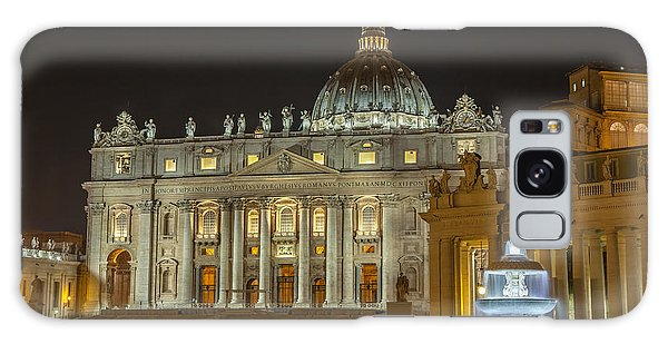 St. Peter Basilica Galaxy Case by Ed Cilley