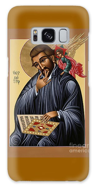 Galaxy Case featuring the painting St Peter Canisius Doctor Of The Church 073 by William Hart McNichols