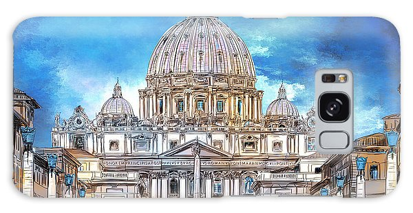 St. Peter's Basilica Galaxy Case