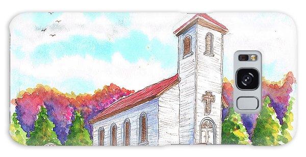 St. Peter's Catholic Church, Fayette, Mi Galaxy Case