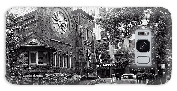 St. Peter's Episcopal Church In Black And White Galaxy Case